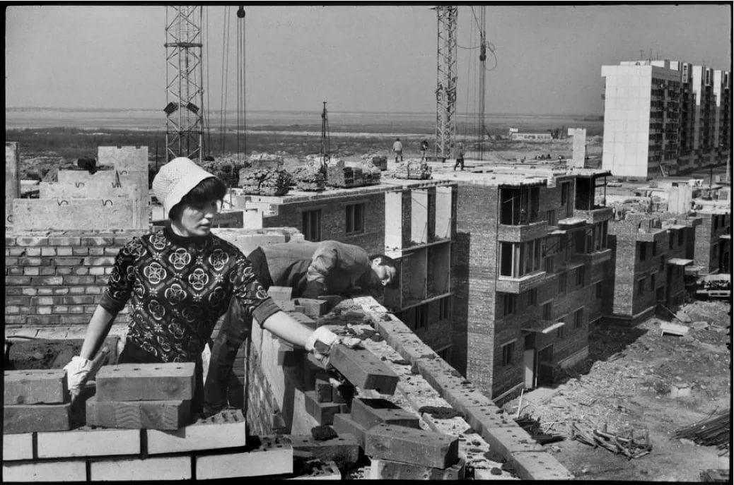 Фото строителей ссср