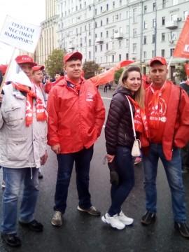 Костромичи  на Всероссийской акции За честные и чистые выборы! - 8