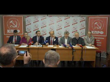 Геннадий Зюганов: партия власти шутит с огнём!